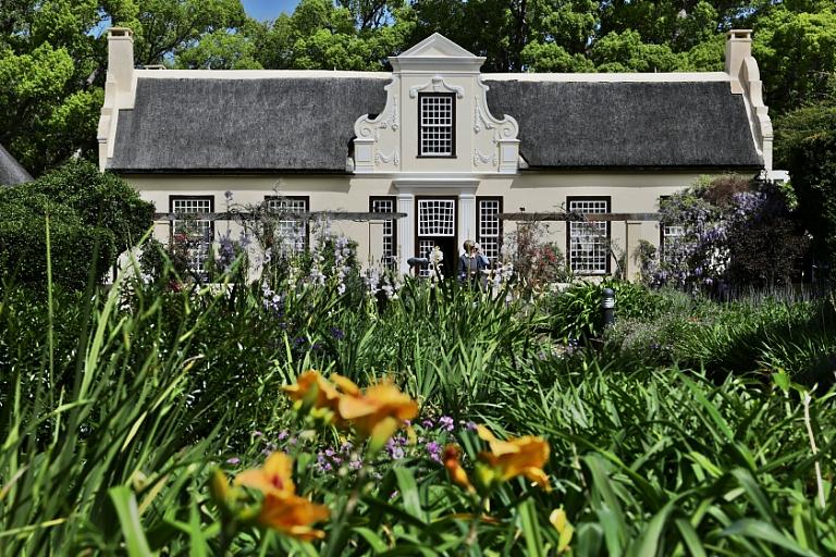 das Weingut Vergelegen in Südafrika