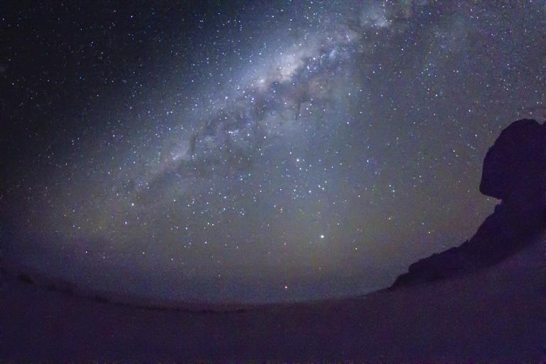 die Milchstraße über Mirabib, Namibia