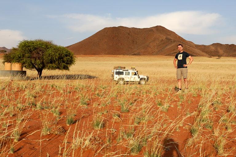 4x4-Rundfahrt im NamibRand Nature Reserve, Family Hideout, Namibia