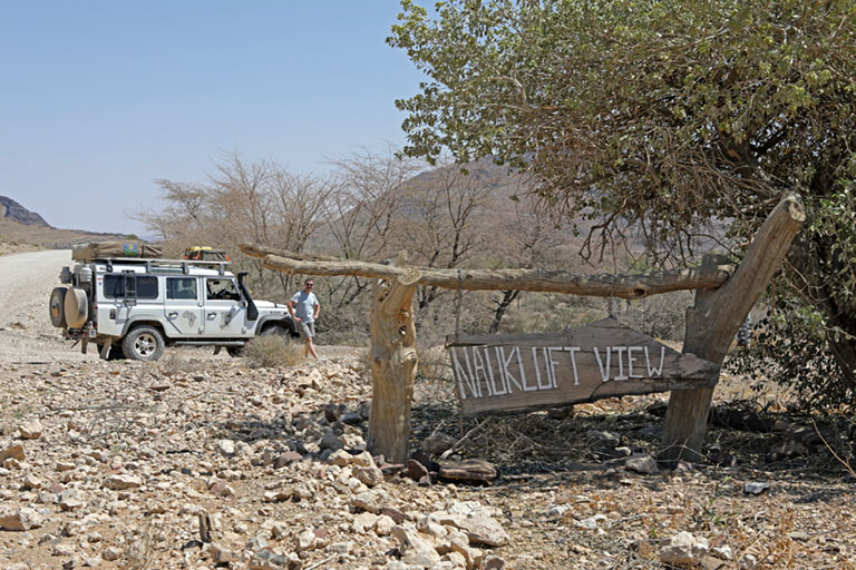 Landy am Tsauchab River Camp, Naukluft View, Namibia