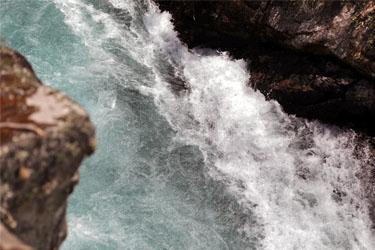 die Huka Falls bei Taupo, Neuseeland