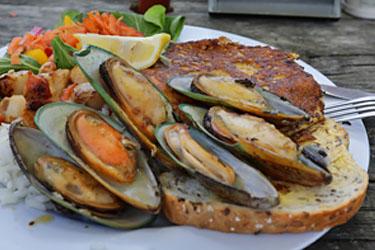 Seafood BBQ, Kaikoura, Neuseeland