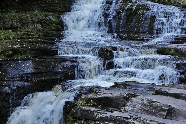 mclean falls, catlins, neuseeland